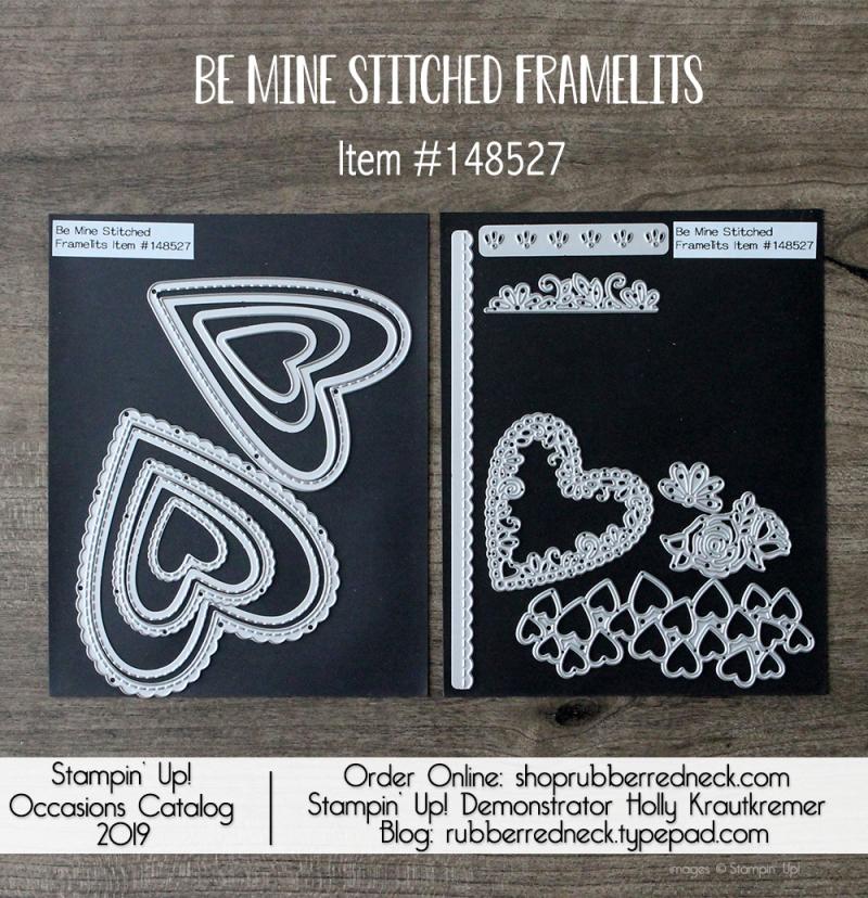 Be Mine Stitched Framelits