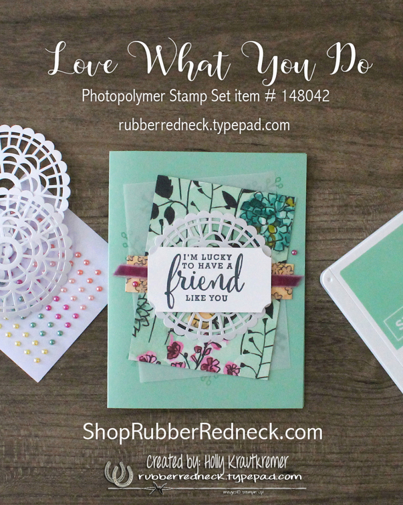 LoveWhatYouDoCard