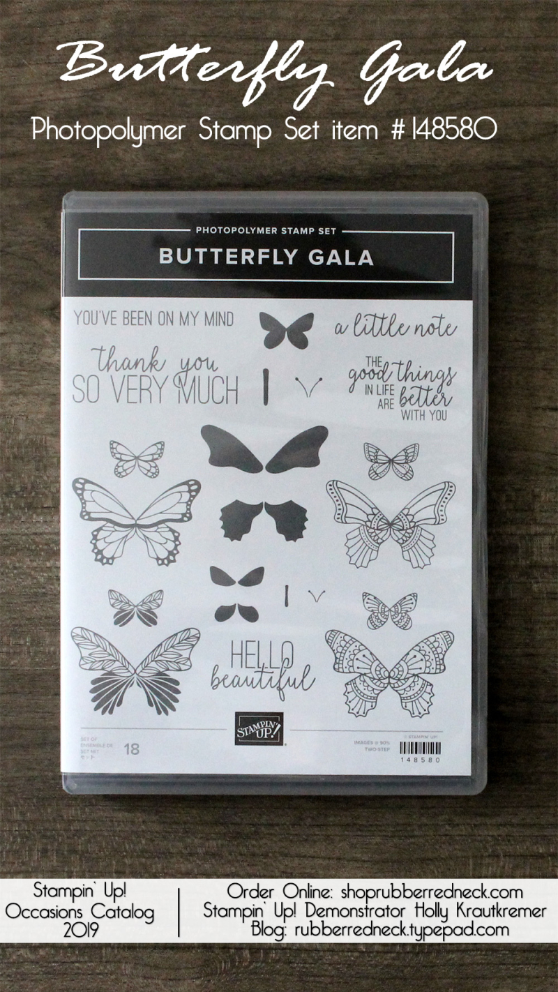 Butterfly Gala Stamp Set