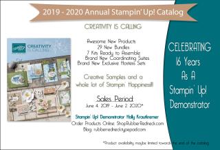New Stampin' Up! Catalog
