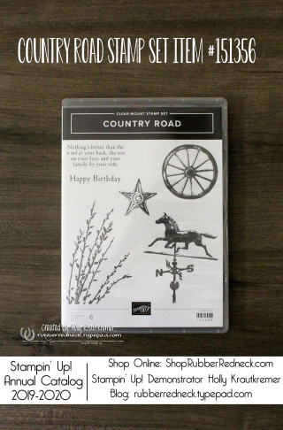 Country Road Stamp Set