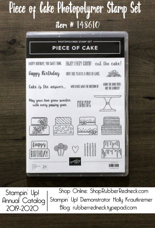 Piece of Cake Stamp Set