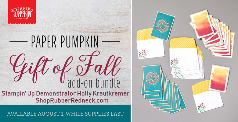 Gift of Fall Add On