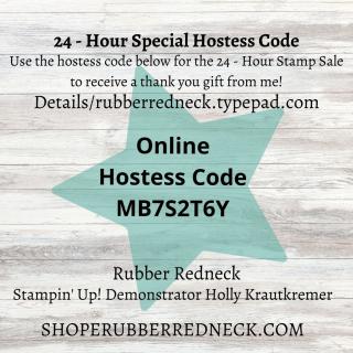Stamp Sale Hostess Code