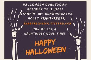 Halloween Countdown October 25-31 2021